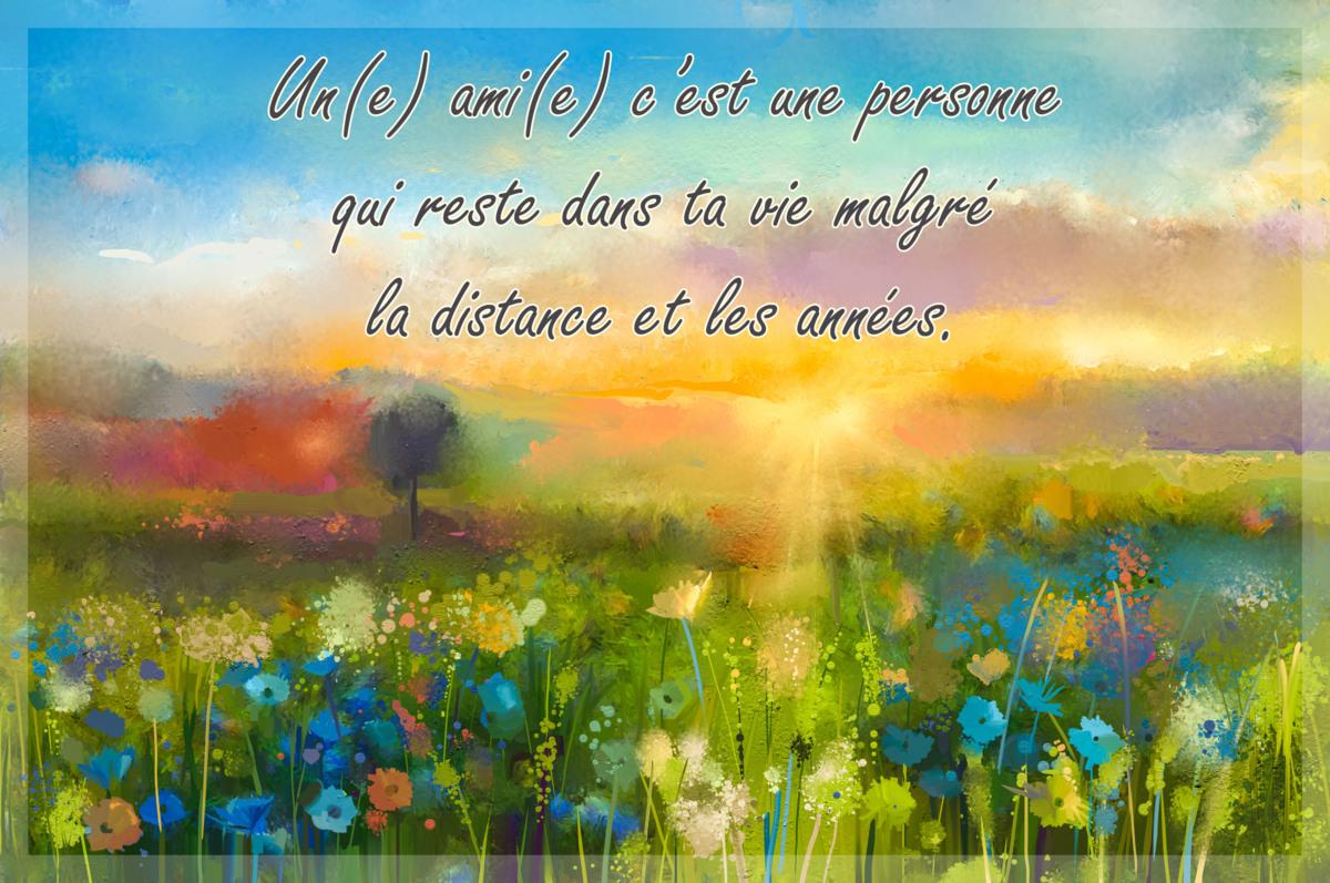 Amitie distance