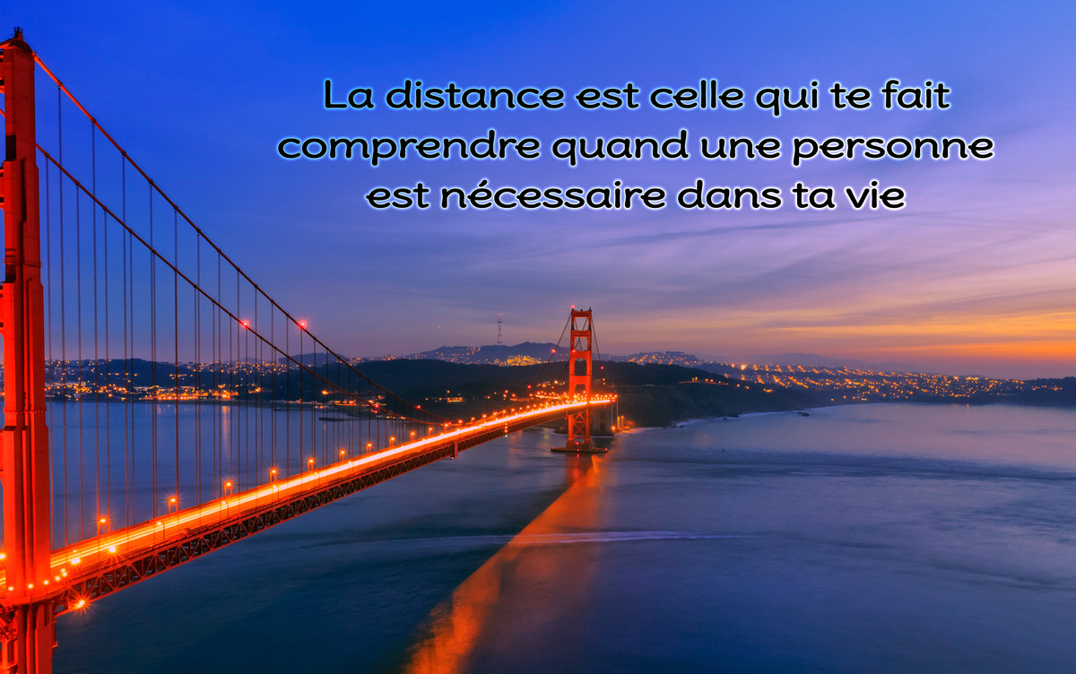 Amour amitie a distance