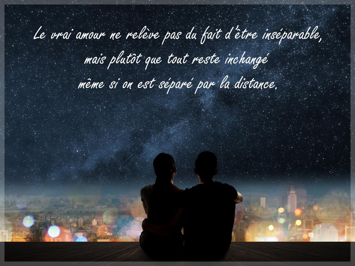 Carte amour a distance
