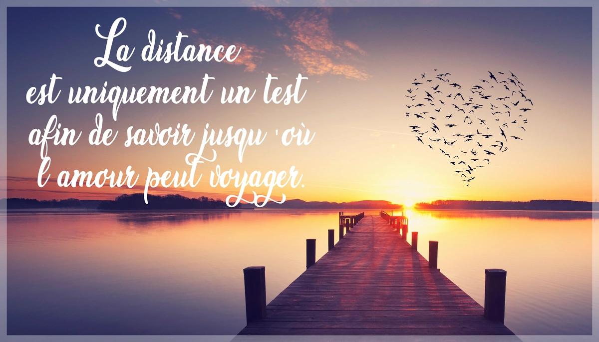 La distance en amour