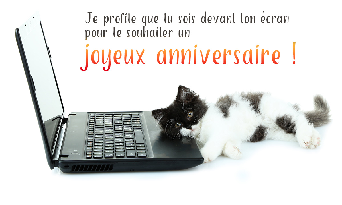 Carte virtuelle anniversaire