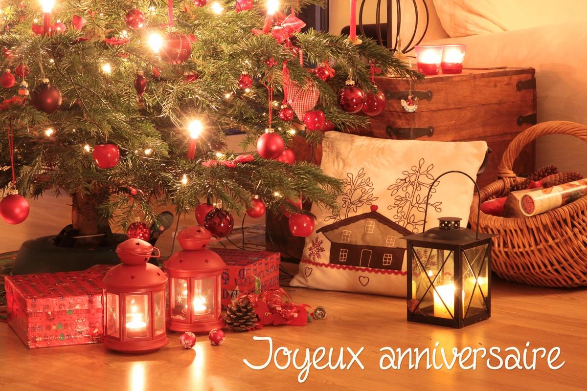 Cartes virtuelles anniversaire noel   Joliecarte