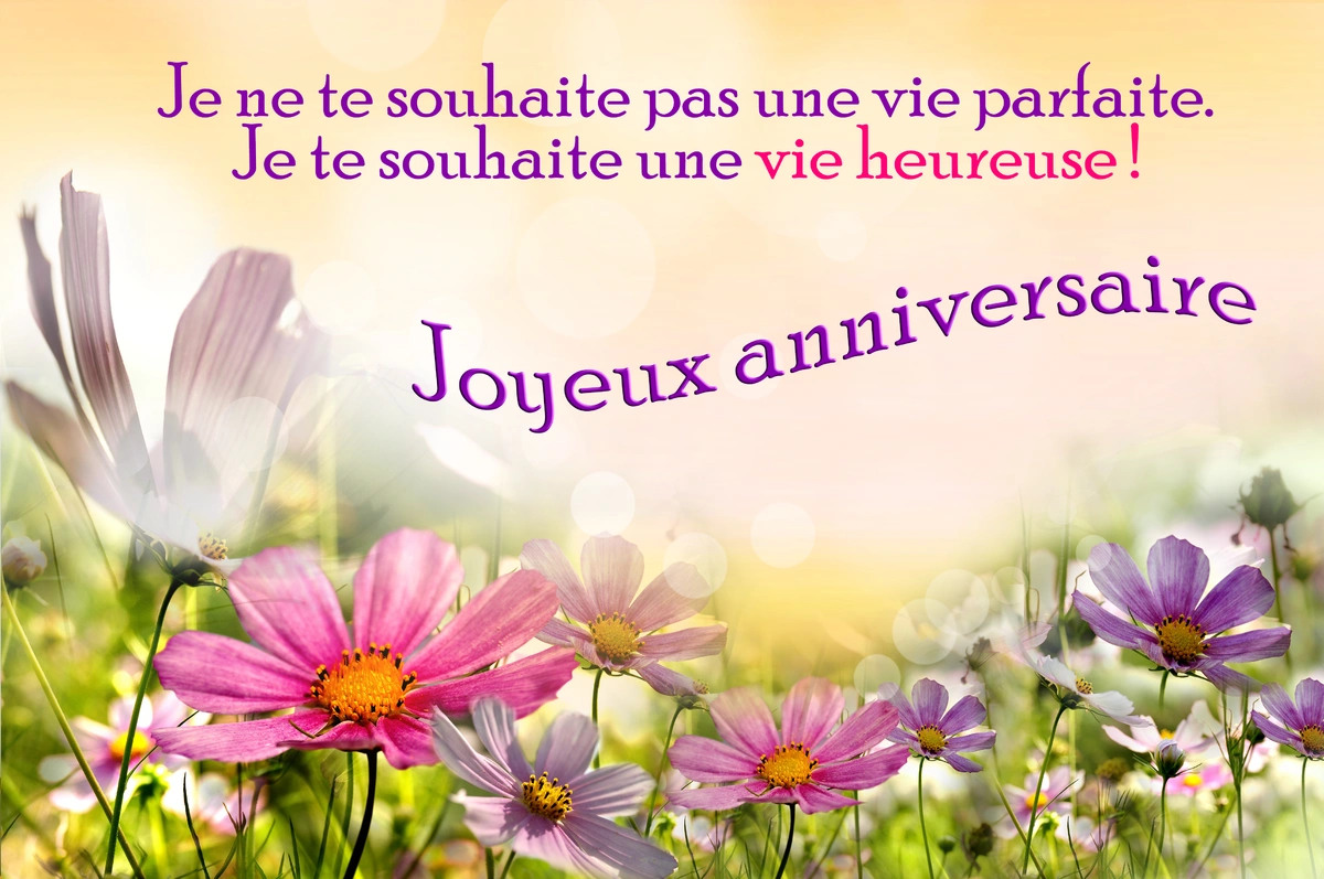 Carte anniversaire virtuelle