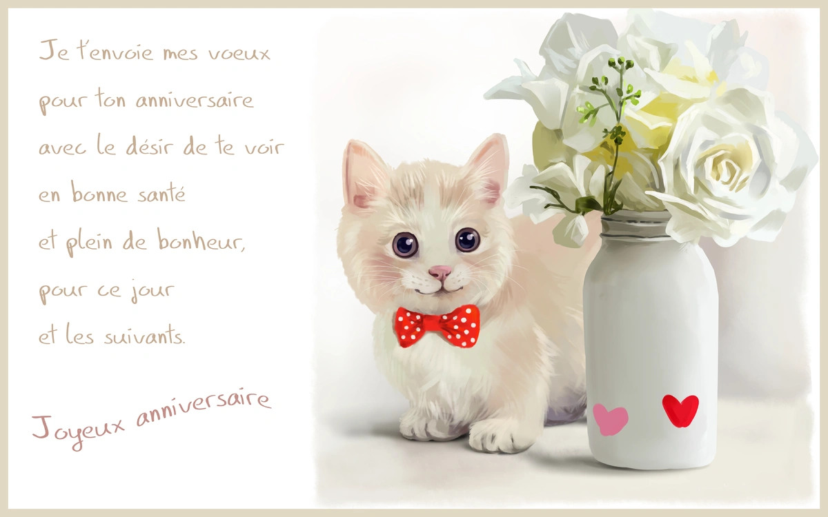 Cartes Virtuelles D Anniversaire Gratuite Joliecarte