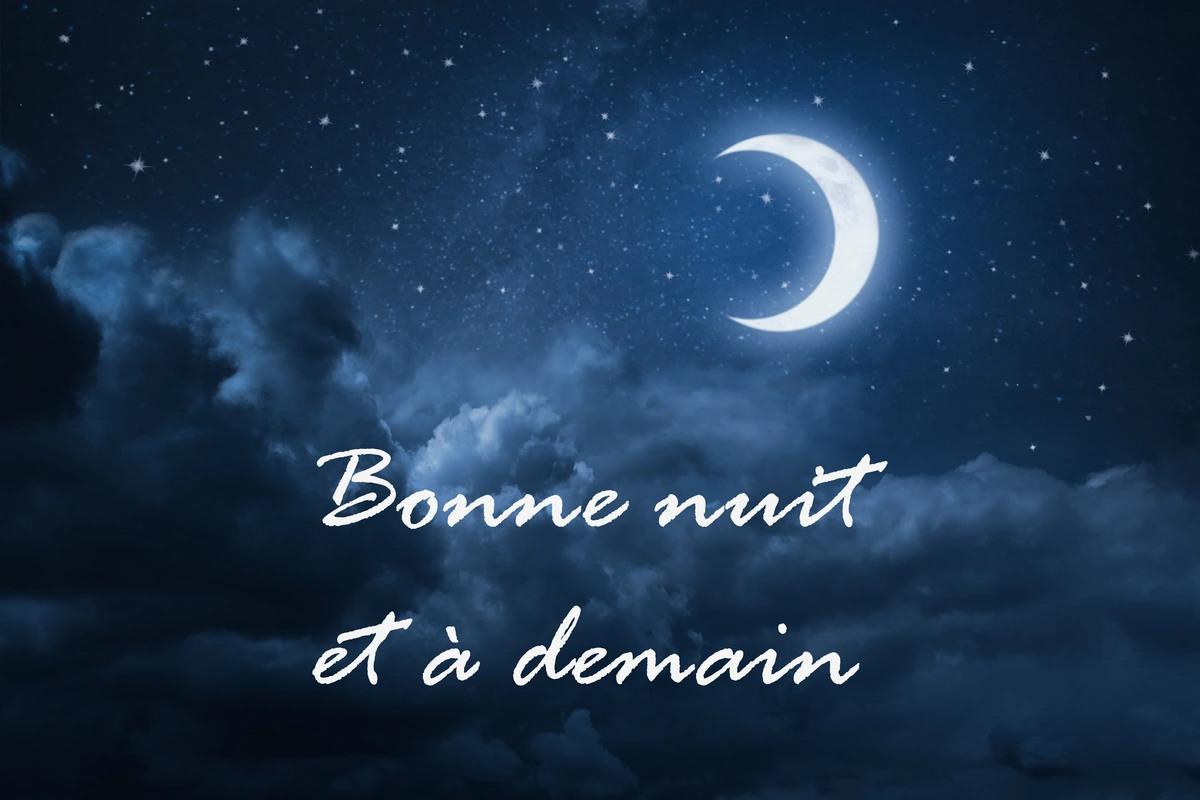 Image Bonne Nuit cartes virtuelles bonne nuit a demain - joliecarte