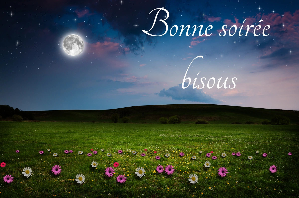 Bonne soiree bisous