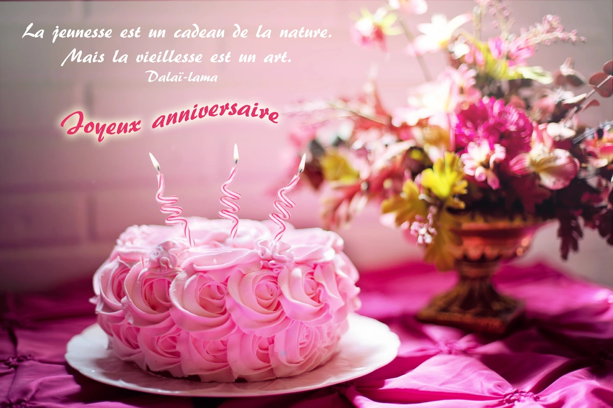 Carte citation anniversaire