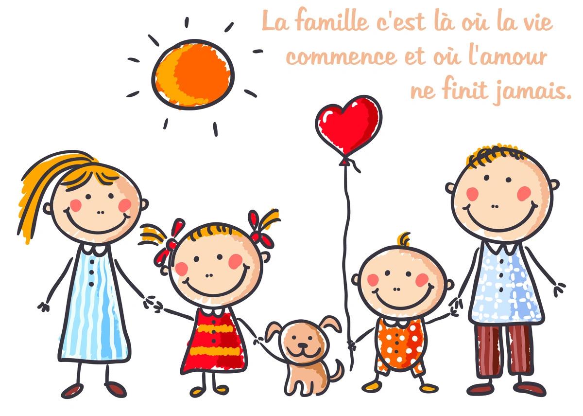 Cartes Virtuelles Proverbe Famille Joliecarte