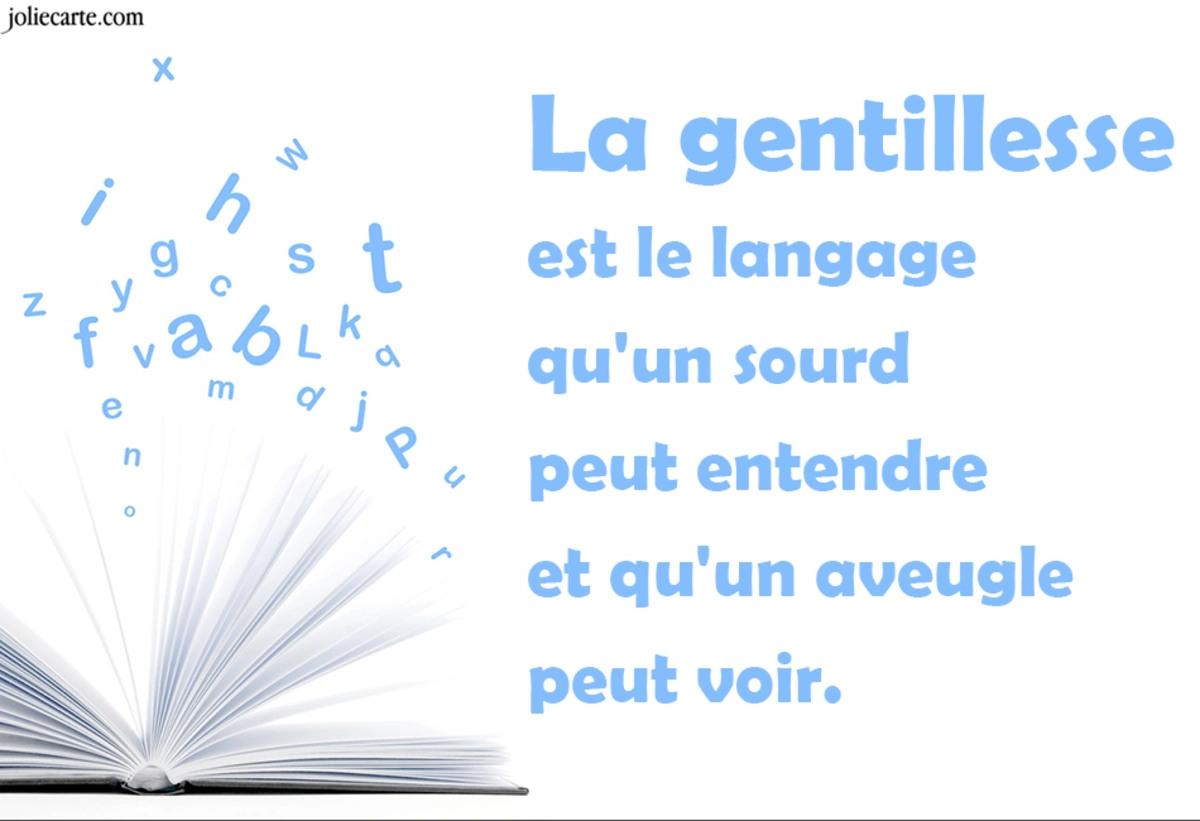Gentillesse langage