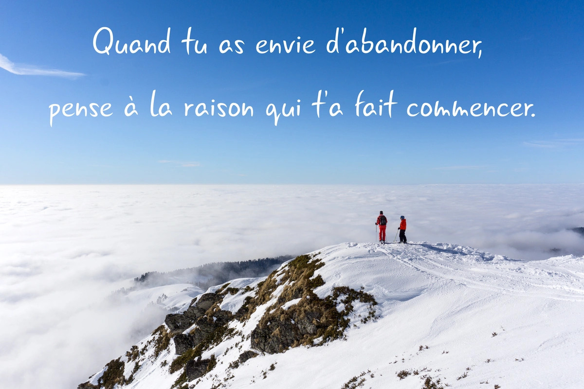 Proverbe sur la motivation