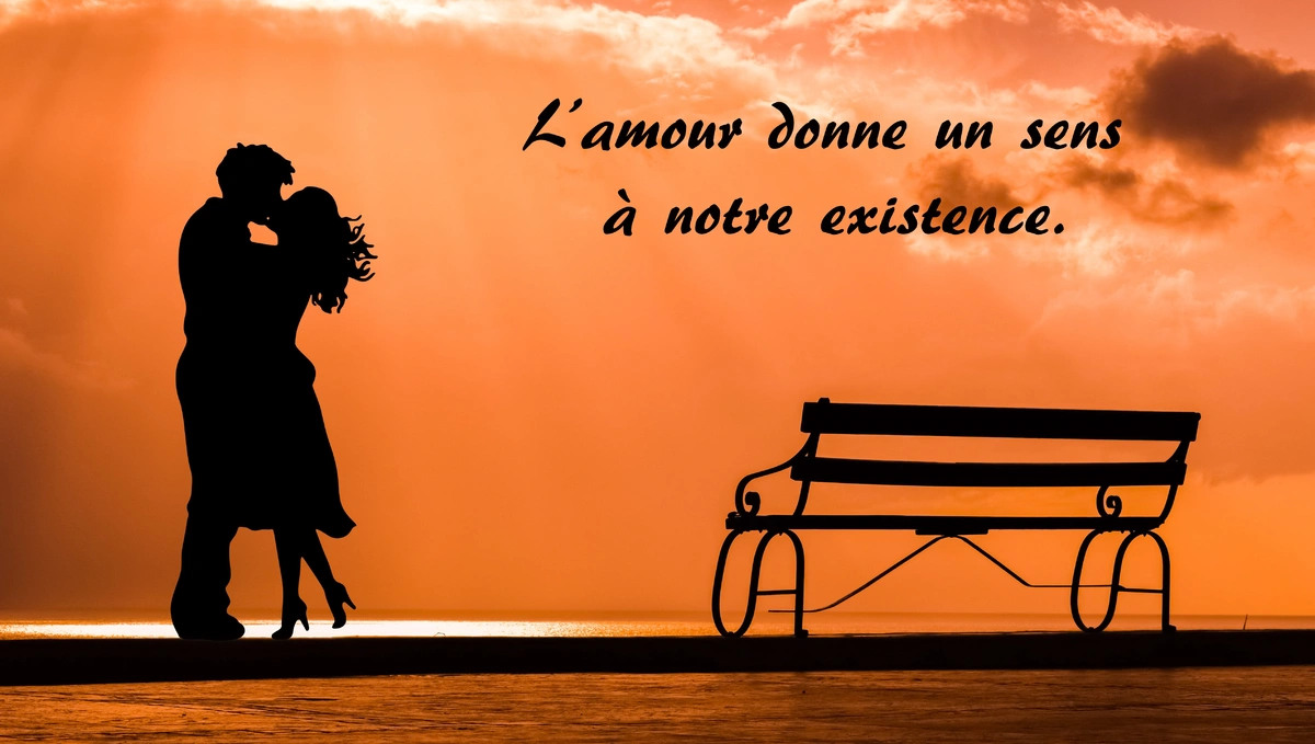 Amour donne un sens a la vie