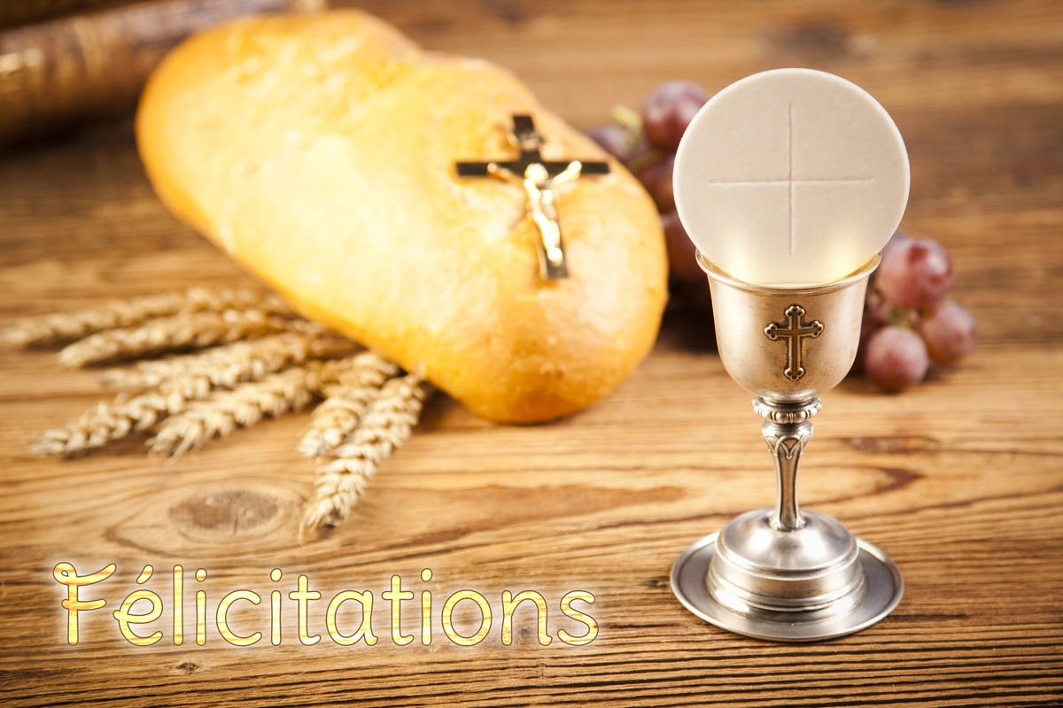 Felicitations communion