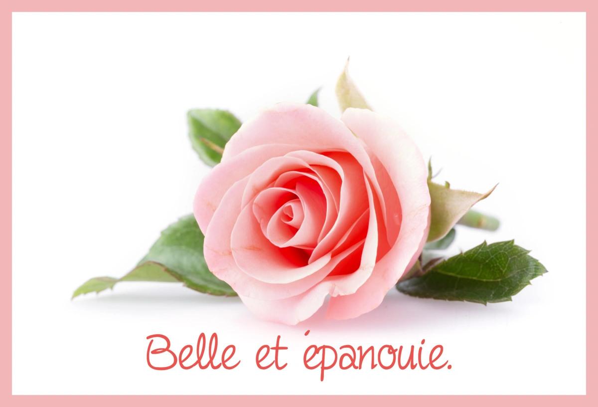 Belle et epanouie