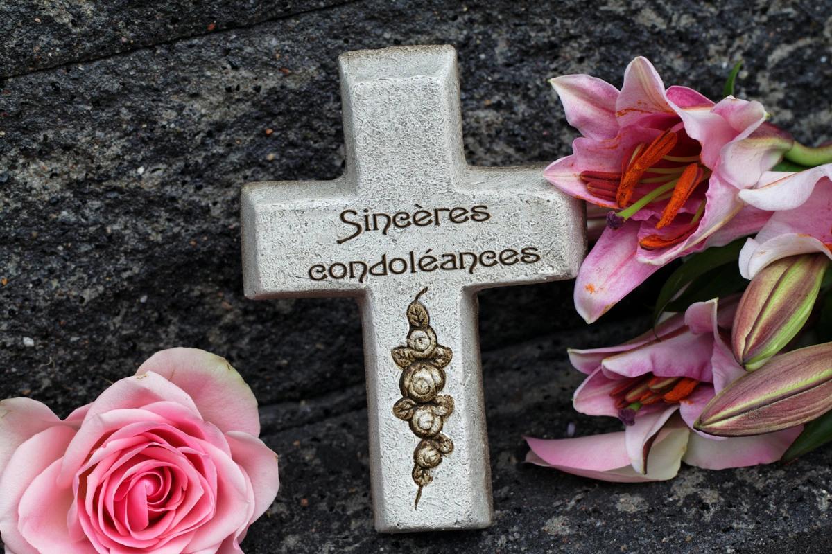 Cartes condoleances