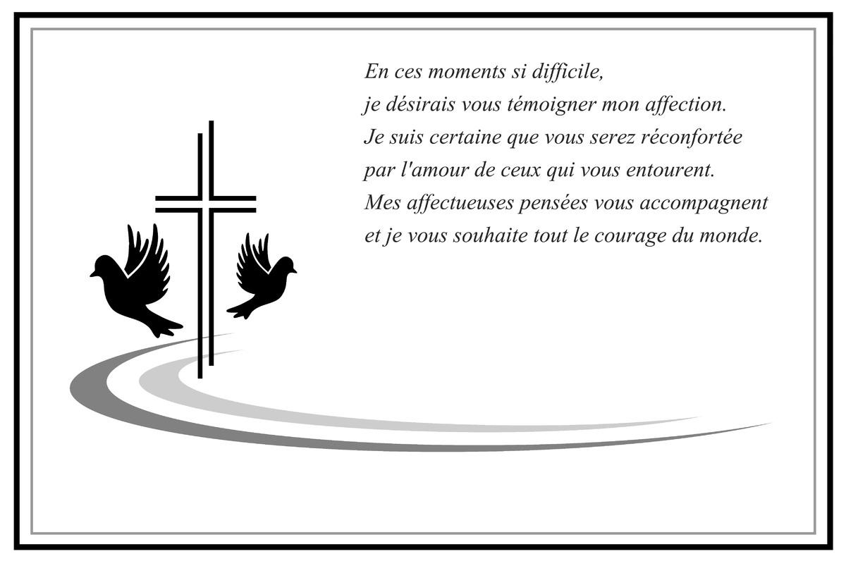 condoléances lettre Cartes virtuelles lettre de condoleances   Joliecarte condoléances lettre