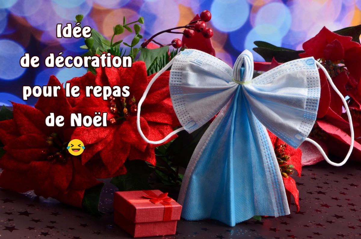 Covid decoration noel