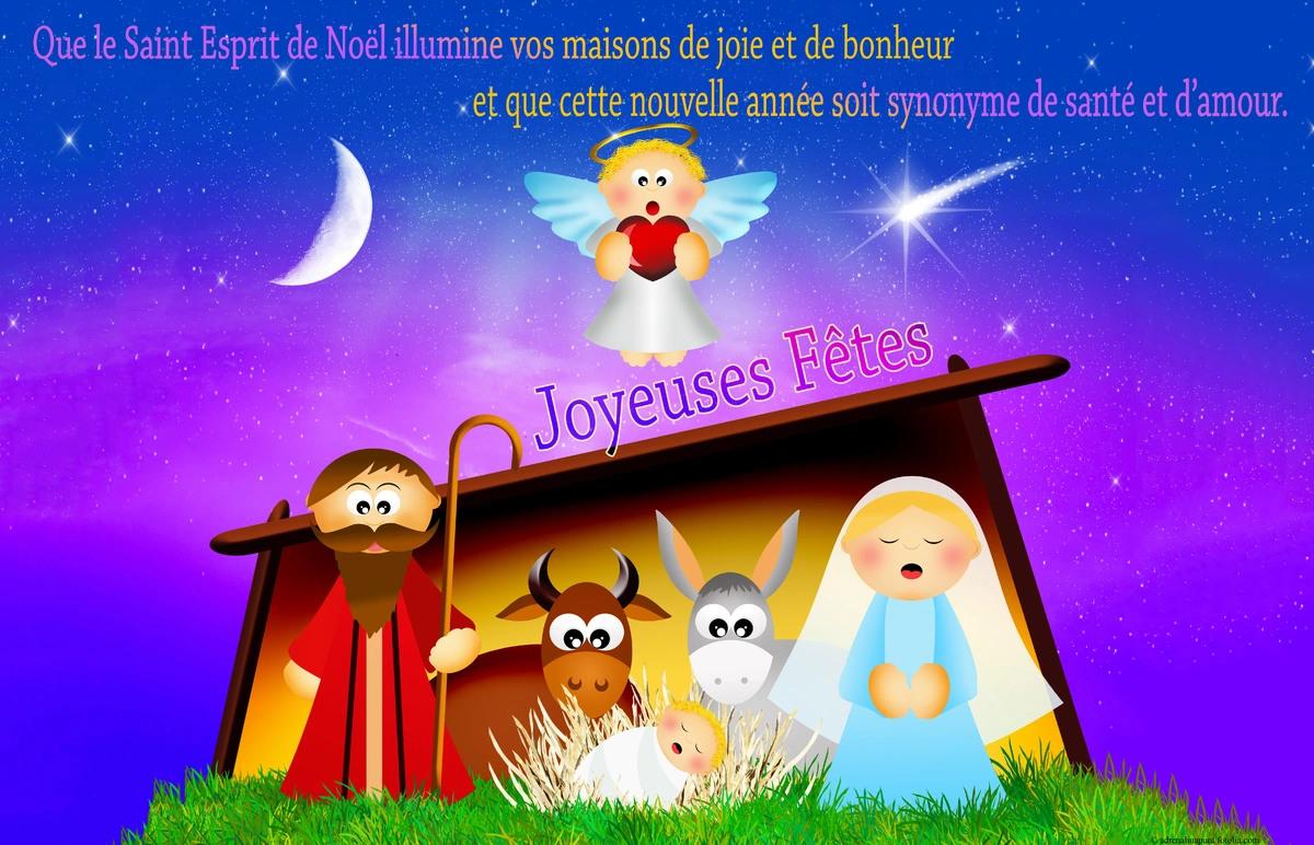 Cartes virtuelles noel religieux   Joliecarte