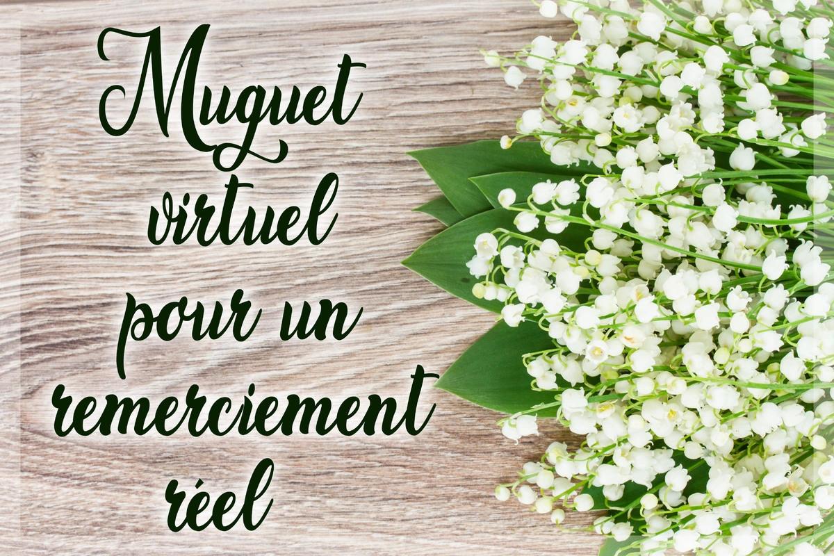 Remerciements muguet