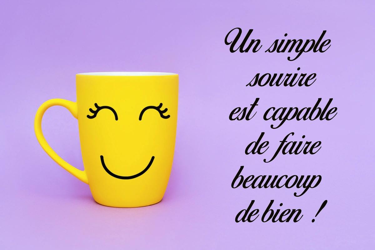 Phrase sourire