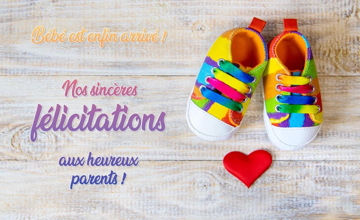 Cartes virtuelles felicitations naissance