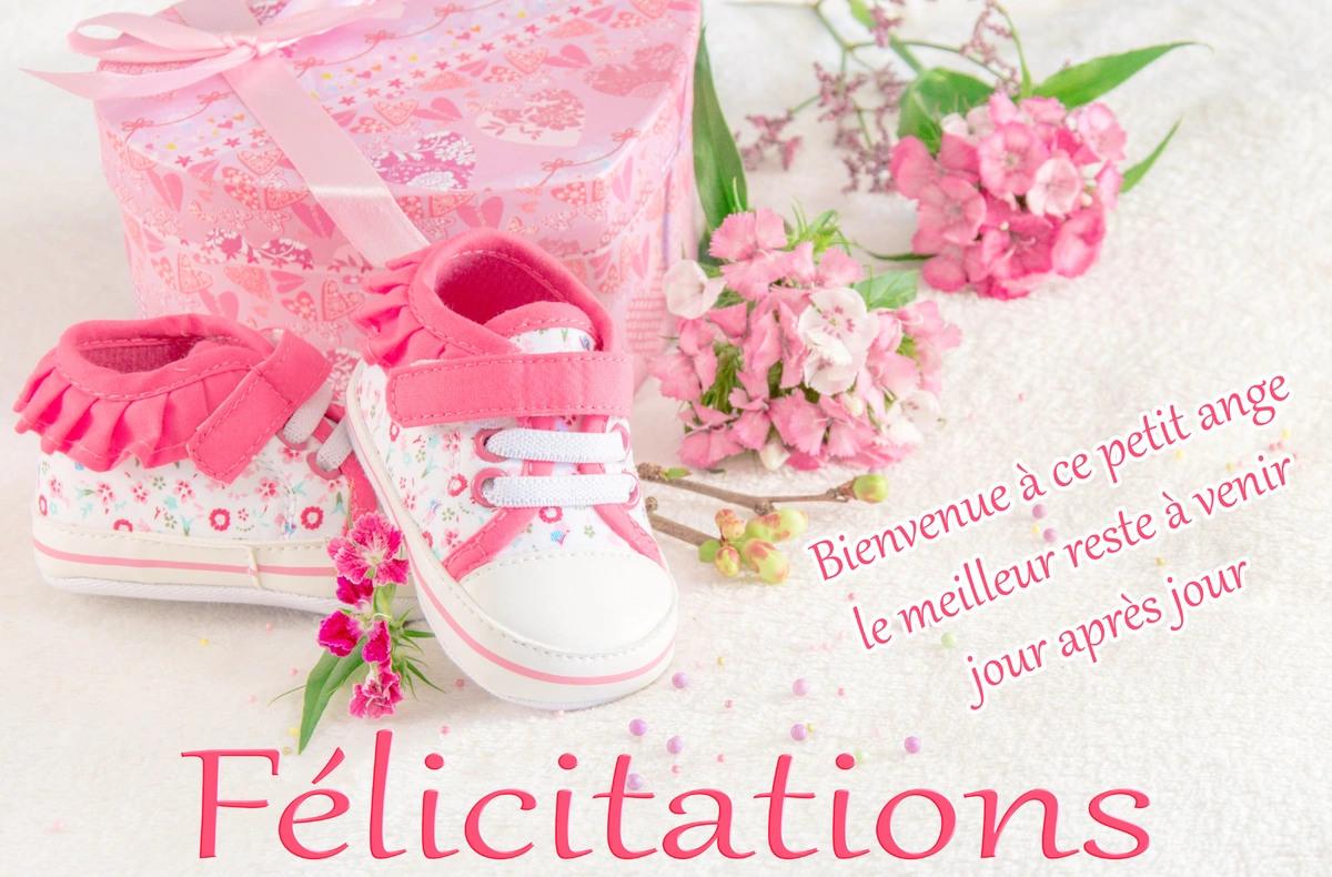 carte de naissance gratuite Cartes virtuelles felicitation naissance fille gratuit   Joliecarte