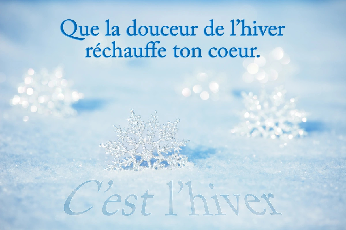 Citations hiver