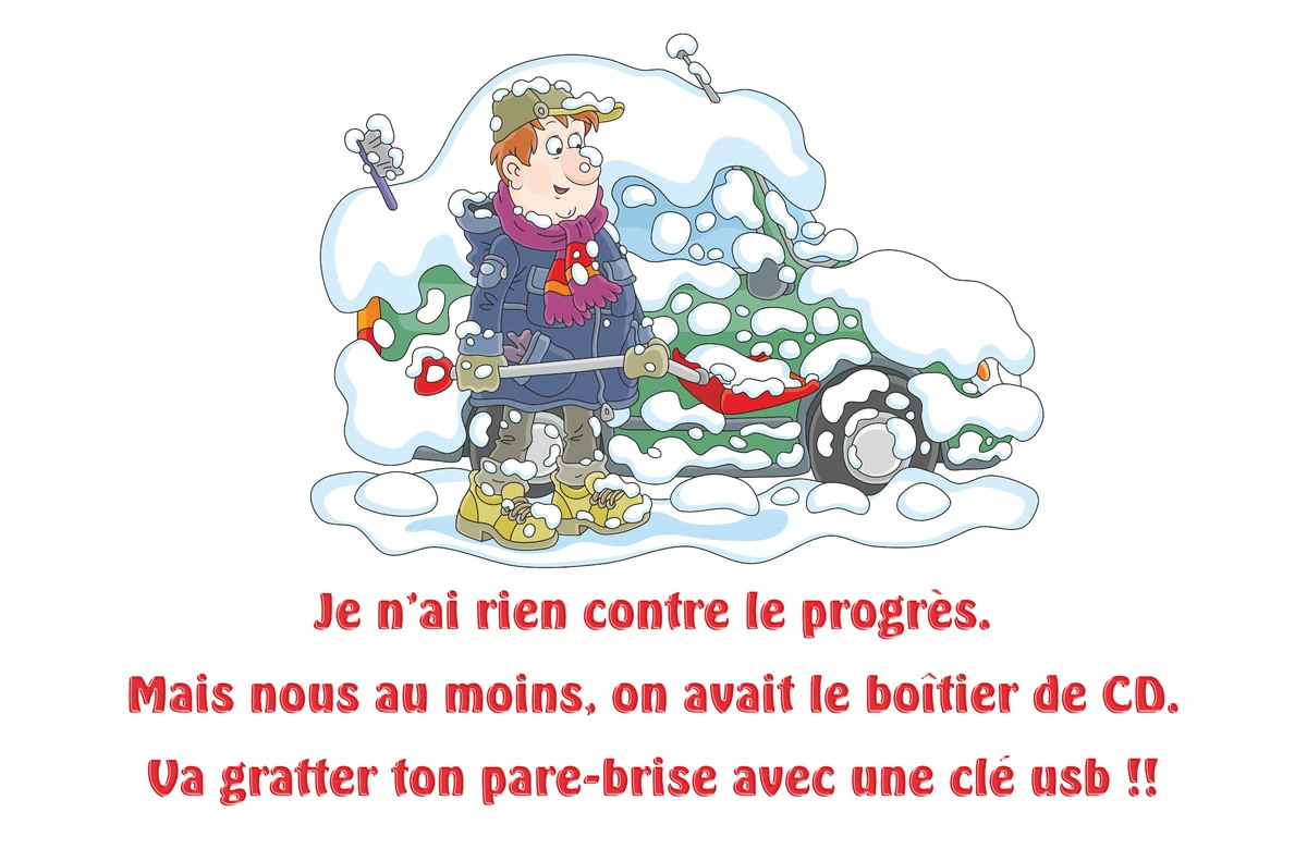 Humour hiver