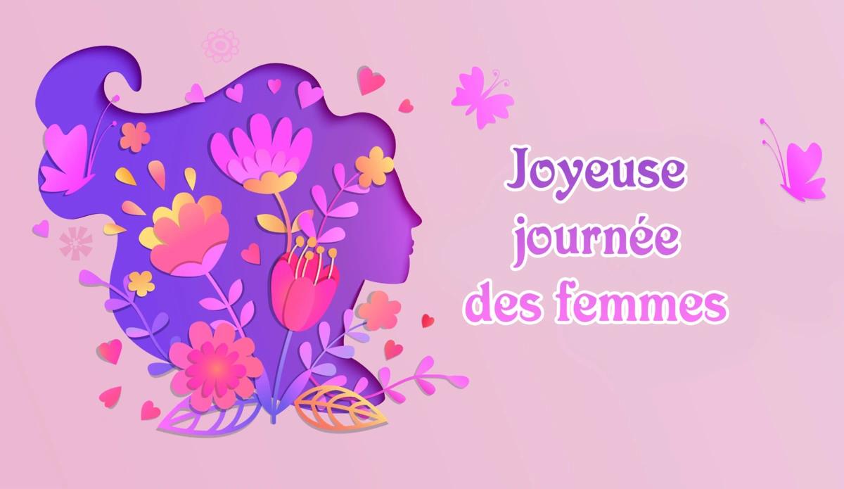 Joyeuse journee des femmes