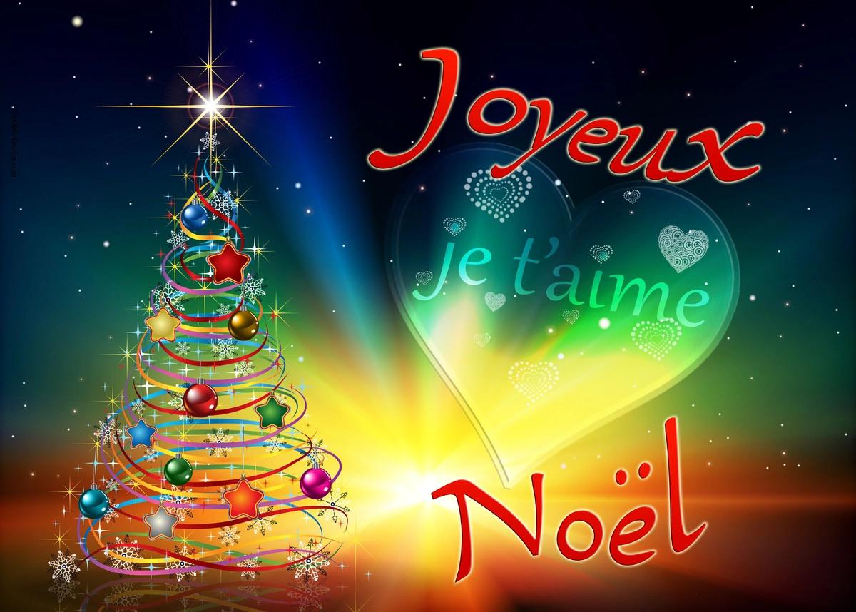 Cartes Virtuelles Joyeux Noel Je T Aime Joliecarte