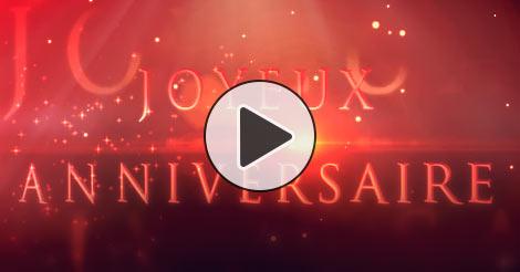 Fleurs virtuelles pour anniversaire - Cartes virtuelles animees gratuites ...