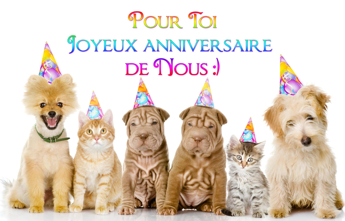 Carte virtuekke anniversaire