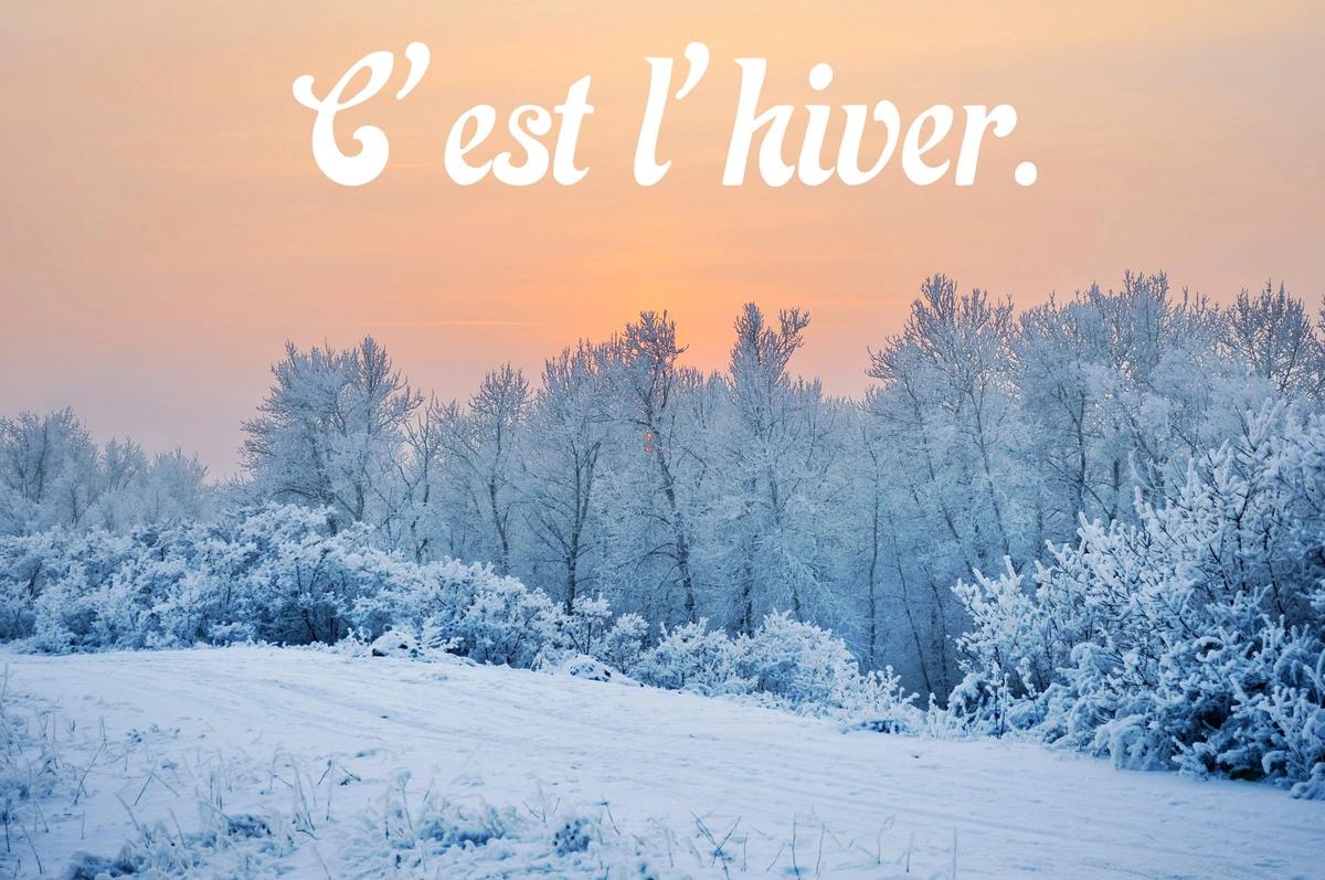 C est l hiver