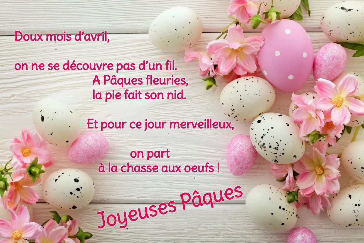 Poeme paques