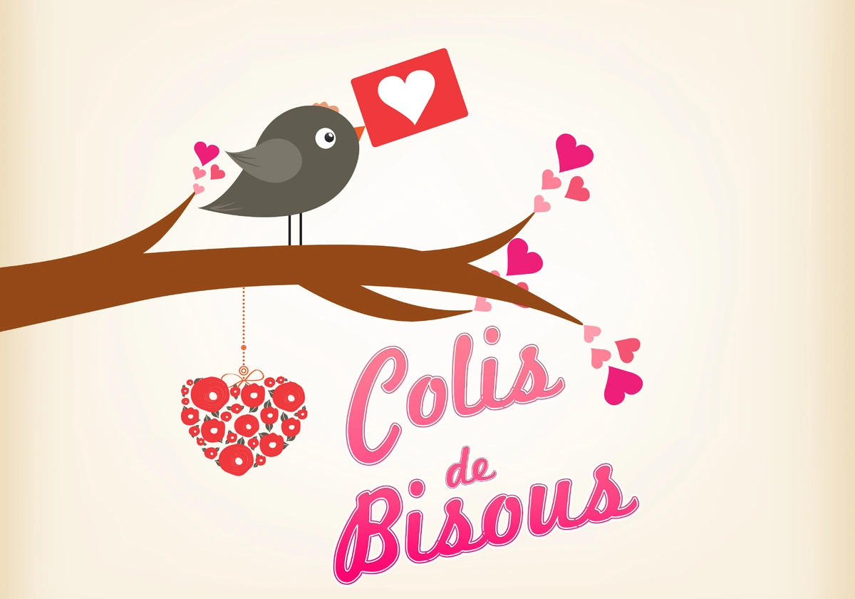 Carte bisous