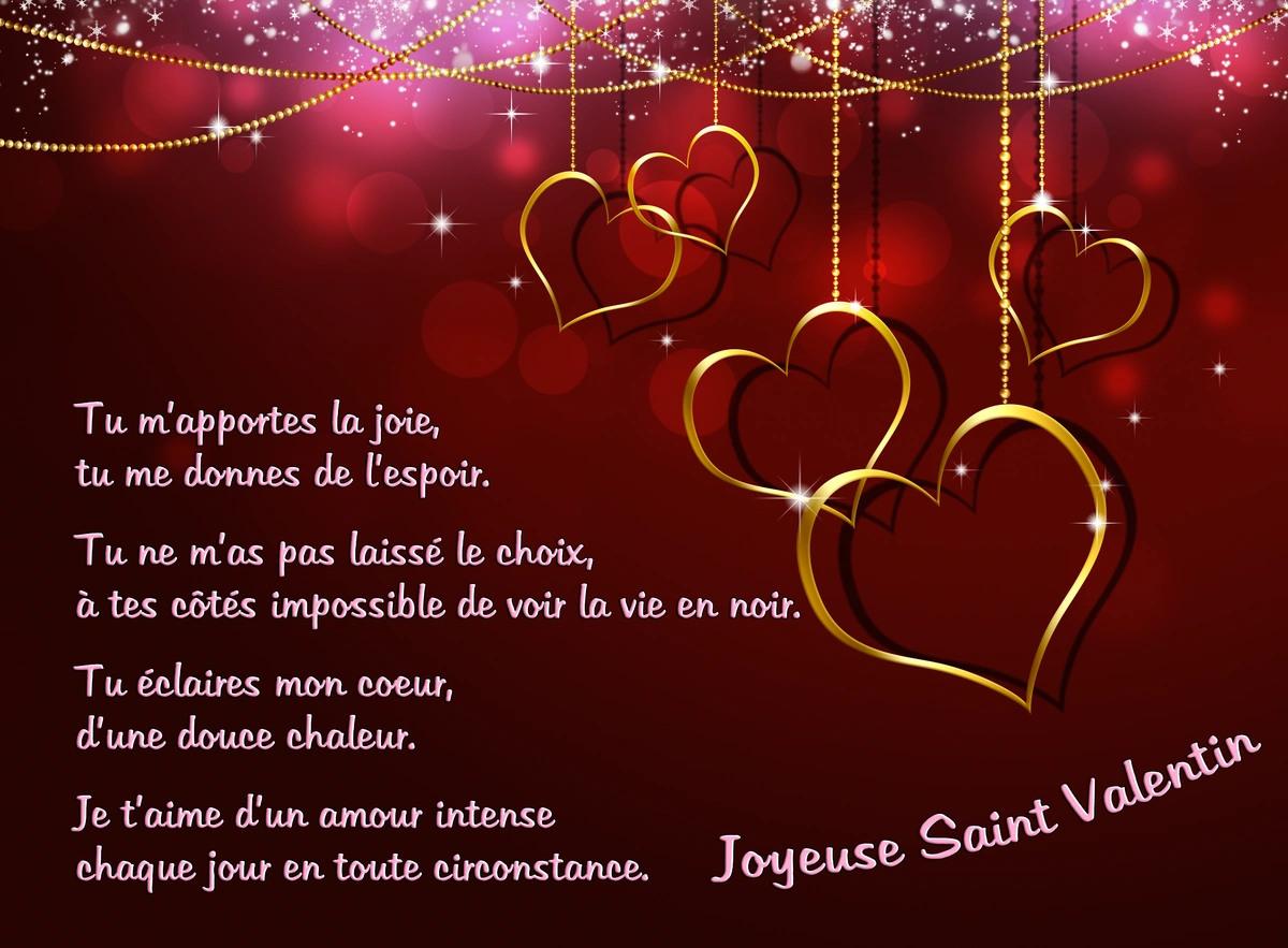 Cartes virtuelles poeme pour la st valentin joliecarte - Poeme d amour pour la saint valentin ...