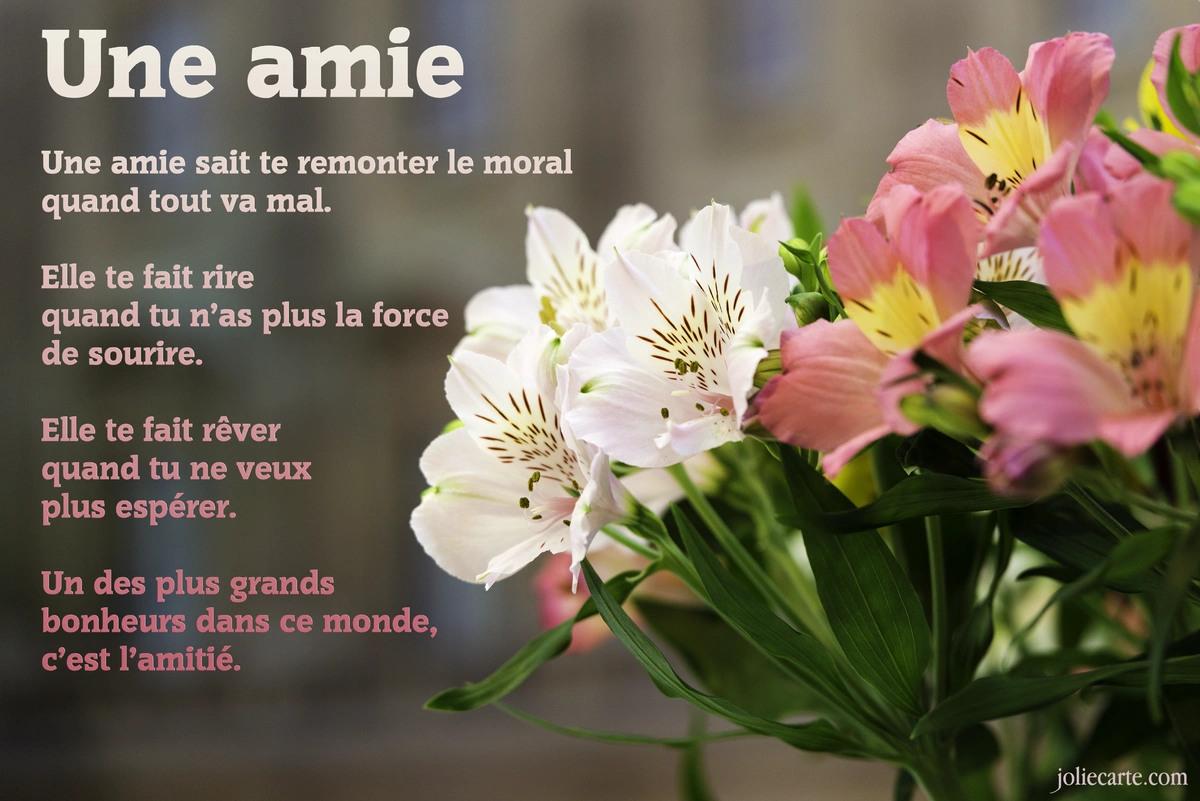 Amitie poeme