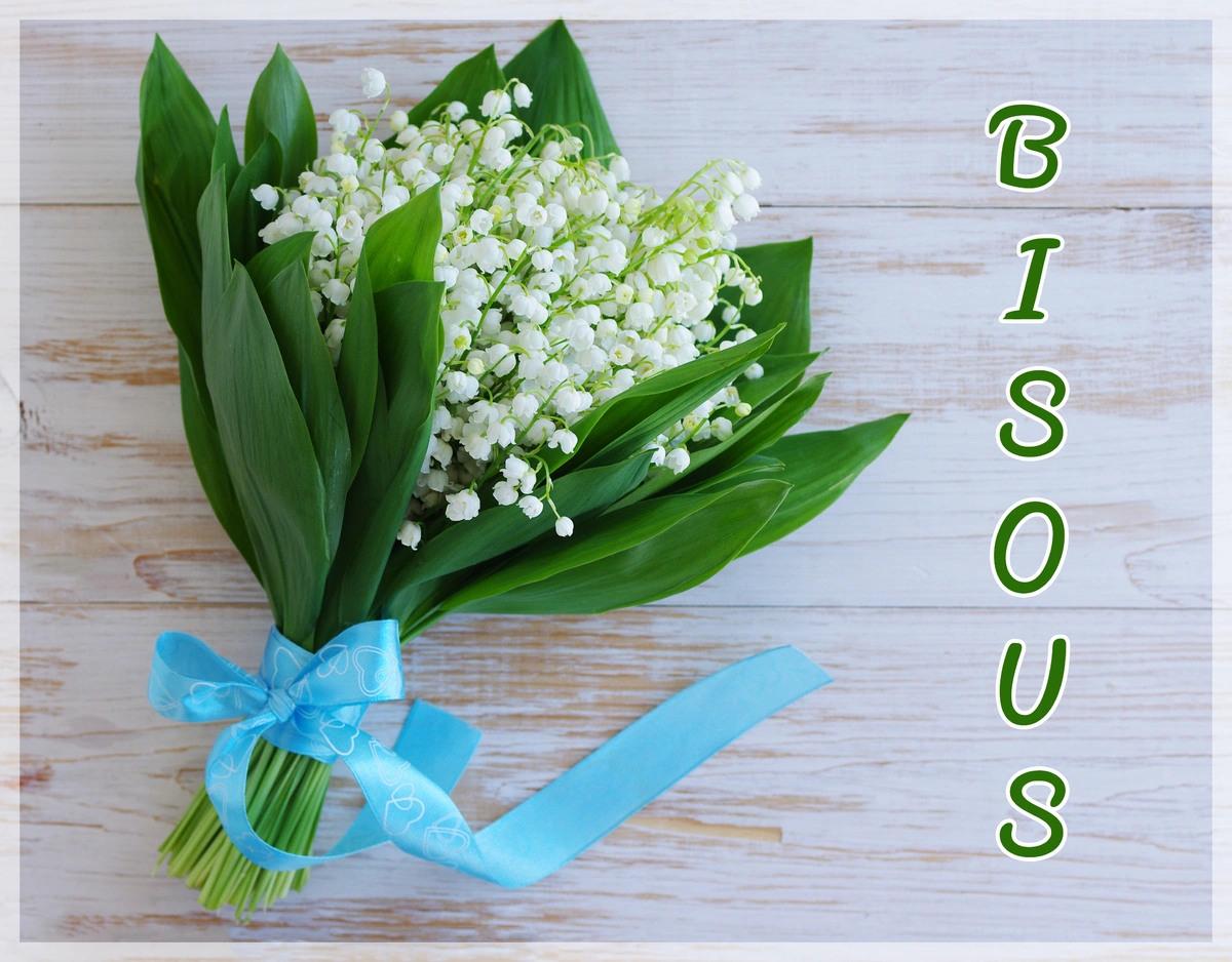 Cartes virtuelles bisous muguet 1er mai - Joliecarte