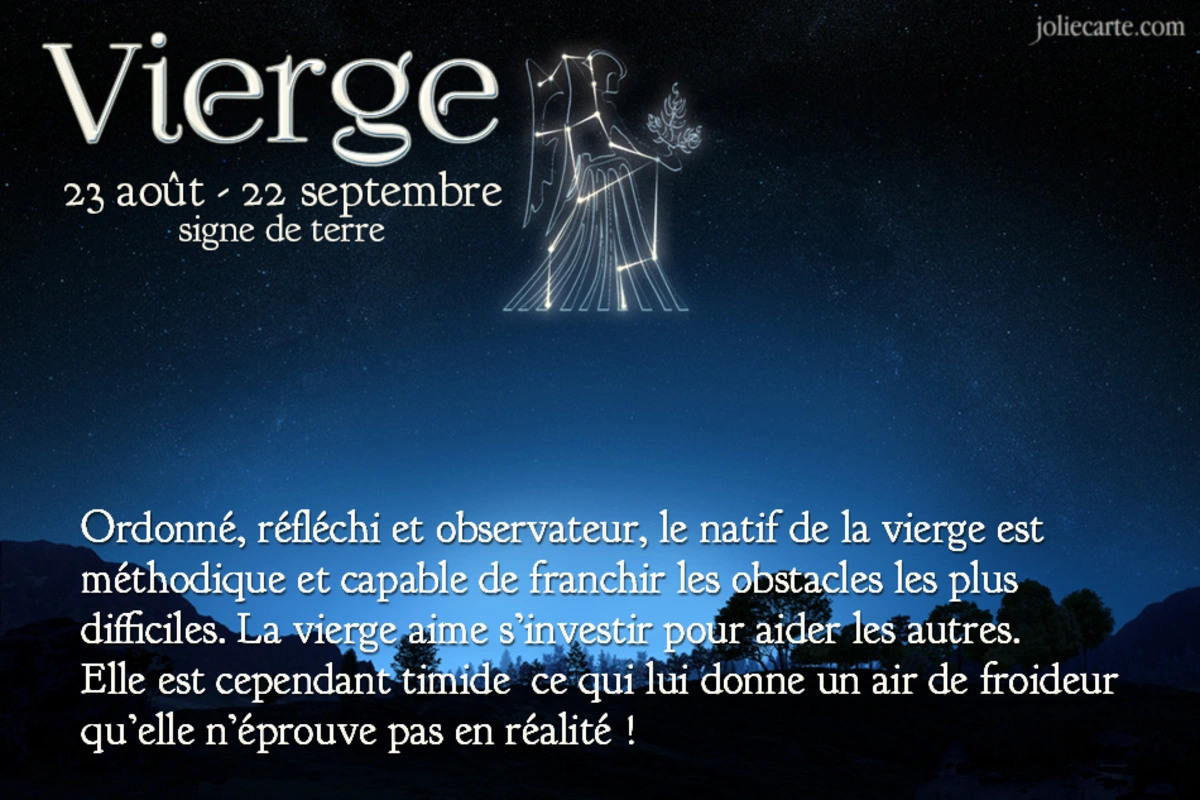 Signe astrologique vierge