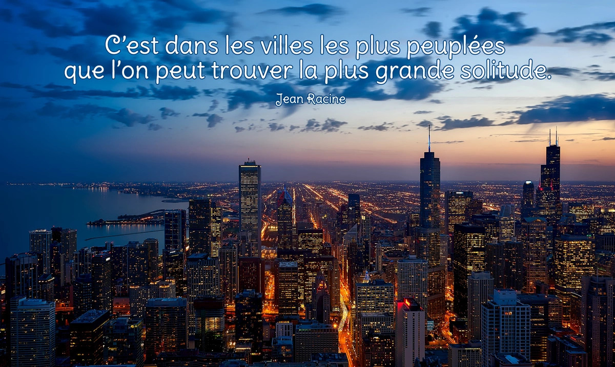 La solitude citation