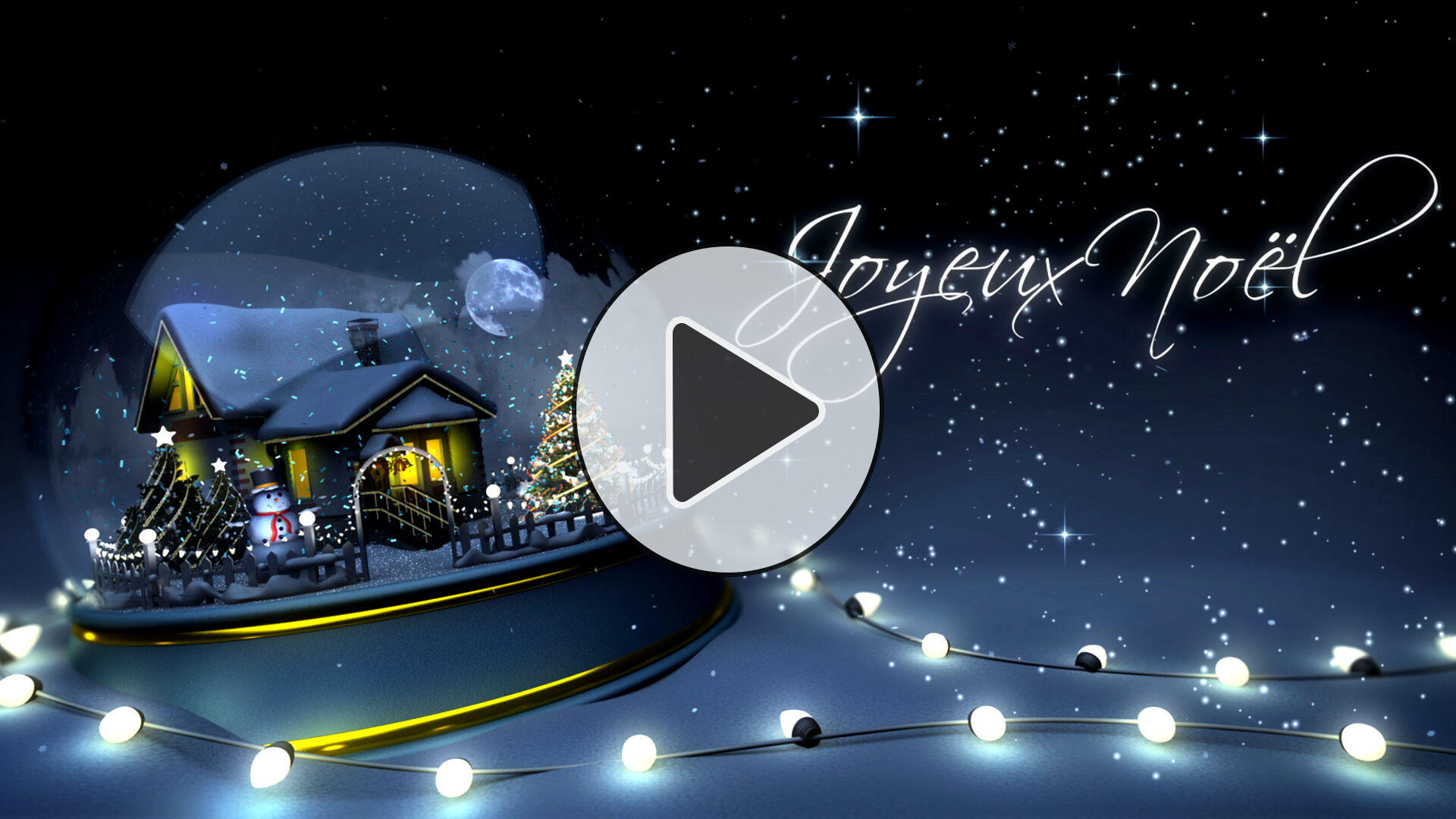 Exceptionnel Jolies cartes virtuelles et cartes de Noël gratuites MZ95