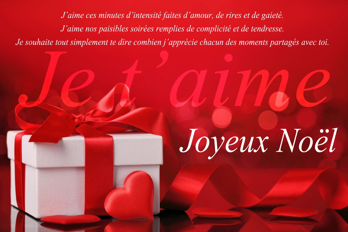 Cartes Virtuelles Amour Noel Joliecarte