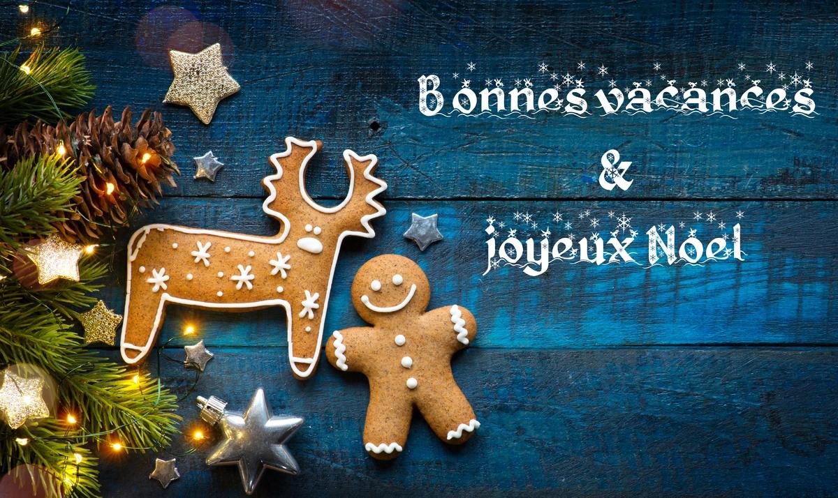 Cartes Virtuelles Bonnes Vacances Et Joyeux Noel Joliecarte
