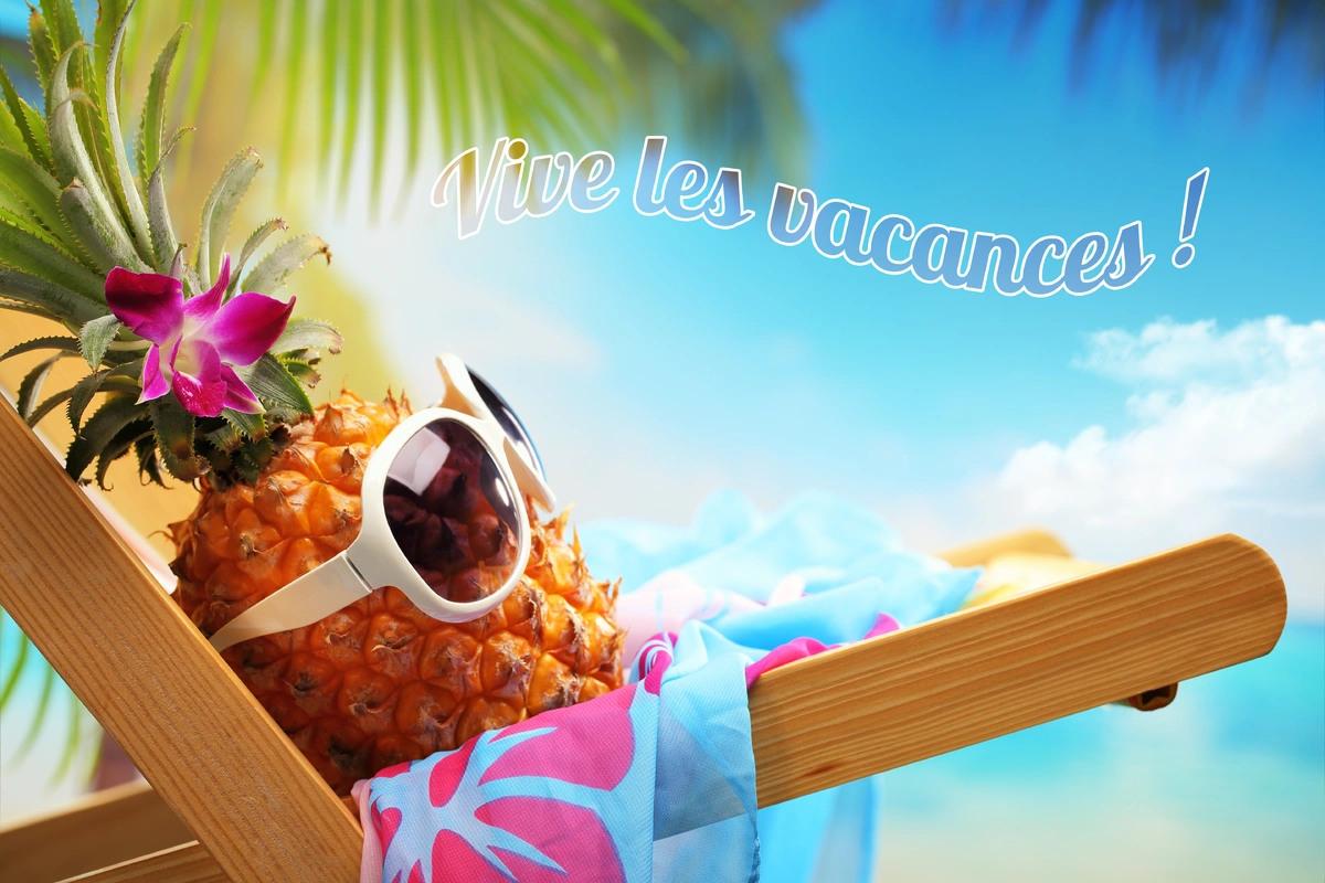 Carte virtuelle vive les vacances