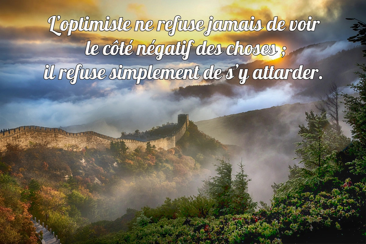 Citation optimiste