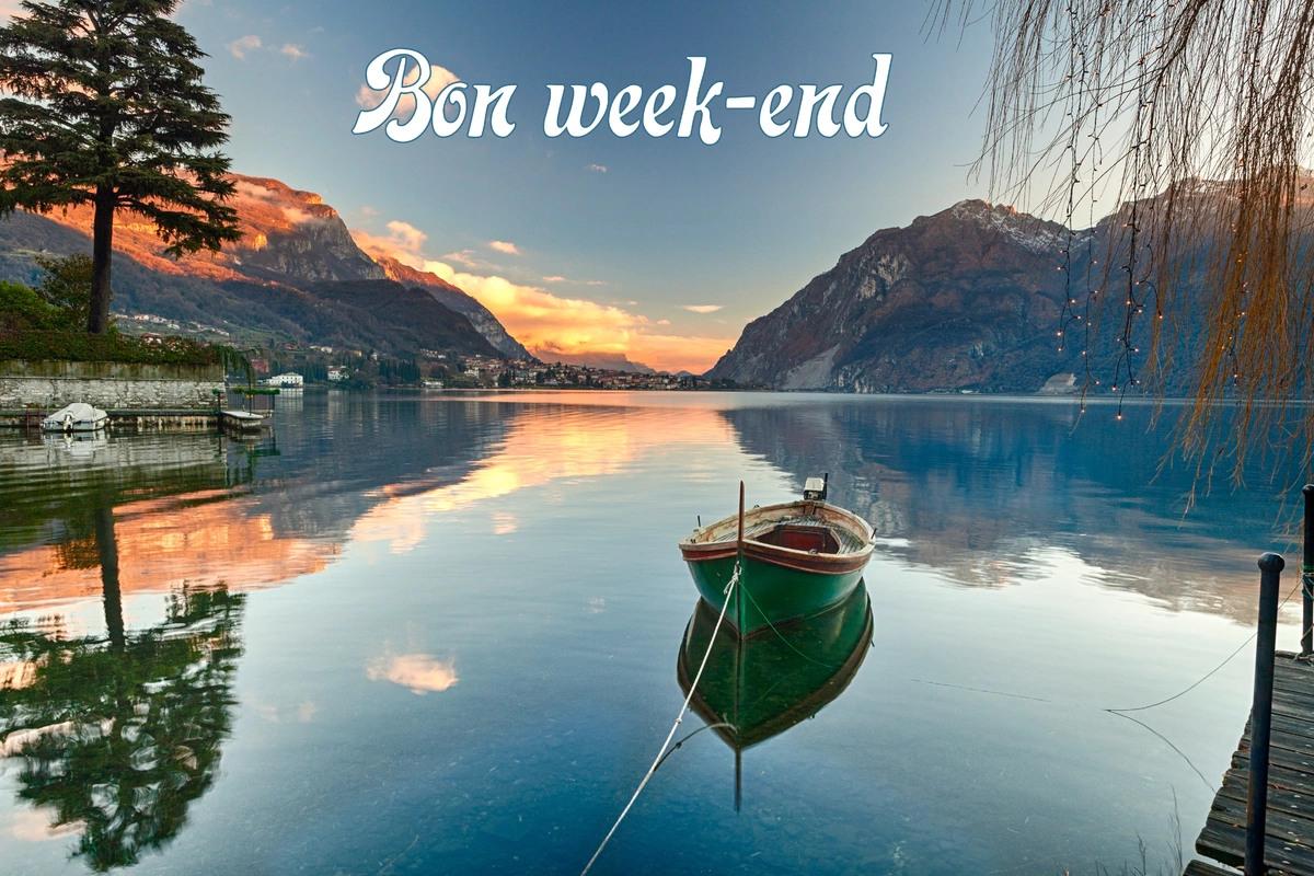 Carte bon week end